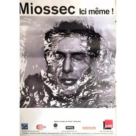 Miossec - Ici Même - AFFICHE / POSTER envoi en tube