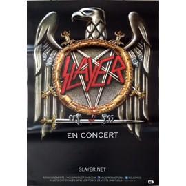 Slayer - - AFFICHE / POSTER envoi en tube