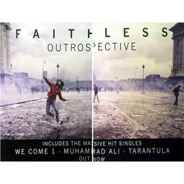 Faithless - Outrospective - AFFICHE / POSTER envoi en tube