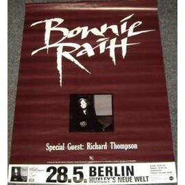 Bonnie Raitt - Berlin - AFFICHE / POSTER envoi en tube