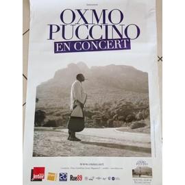 Oxmo Puccino - Roi Sans Carrosse - AFFICHE / POSTER envoi en tube