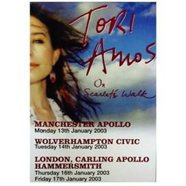 Tori Amos - On Scarlet's Walk - AFFICHE / POSTER envoi en tube