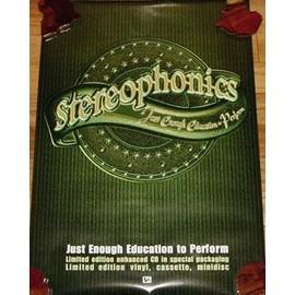 Stereophonics - - AFFICHE / POSTER envoi en tube