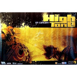 High Tone - - AFFICHE / POSTER envoi en tube