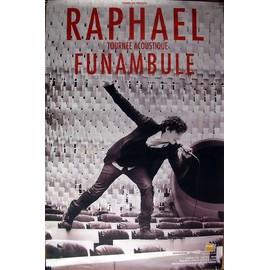Raphael - Funambule - AFFICHE / POSTER envoi en tube