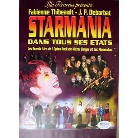 STARMANIA - - AFFICHE / POSTER envoi en tube