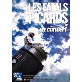 Les Fatals Picards - septième ciel - AFFICHE / POSTER envoi en tube