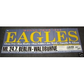 The Eagles - World Tour 96 - AFFICHE / POSTER envoi en tube