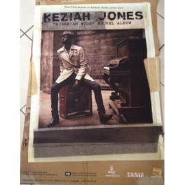 Keziah Jones -  - AFFICHE / POSTER envoi en tube