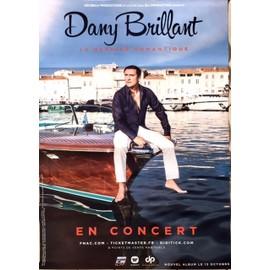 Dany Brillant - - AFFICHE / POSTER envoi en tube