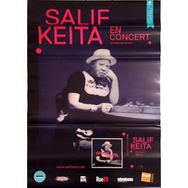 SALIF KEITA - - AFFICHE / POSTER envoi en tube