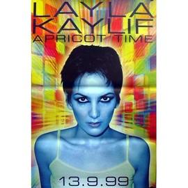 Layla KAYLIF - Apricot Time - AFFICHE / POSTER envoi en tube