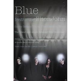 Blue - Featuring Elton John - AFFICHE / POSTER envoi en tube