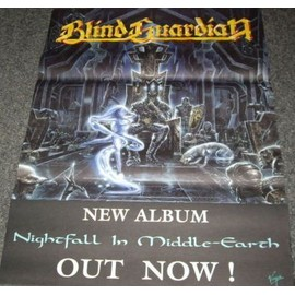 Blind Guardian - Nightfall In Middle-Eath - AFFICHE / POSTER envoi en tube
