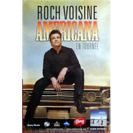 Roch Voisine - Americana - AFFICHE / POSTER envoi en tube