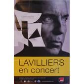 Bernard Lavilliers - En Concert - Affiche / Poster Envoi En Tube