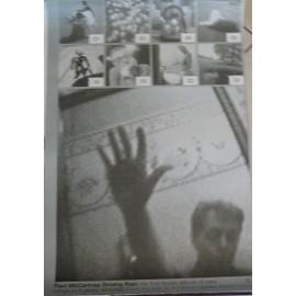 Paul McCartney - Driving Rain - AFFICHE / POSTER envoi en tube