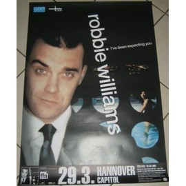 Robbie WILLIAMS - Germany Tour - AFFICHE / POSTER envoi en tube