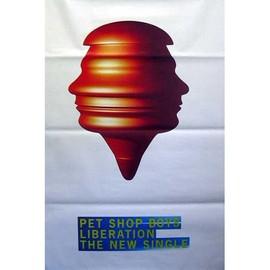 Pet Shop Boys - Liberation - AFFICHE / POSTER envoi en tube