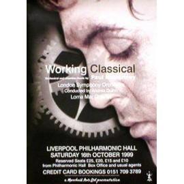 Paul McCartney - Liverpool Philarmonic Hall 1999 - AFFICHE / POSTER envoi en tube