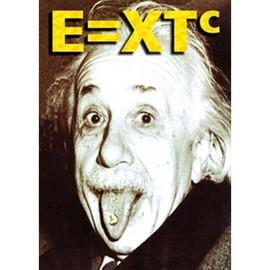 Albert EINSTEIN - E=XTC - AFFICHE / POSTER envoi en tube