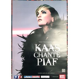 Patricia Kaas - chante Piaf - AFFICHE / POSTER envoi en tube