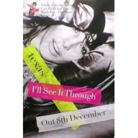 TEXAS - I'll See It through - Original Promo Poster - AFFICHE / POSTER envoi en tube