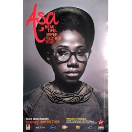 Asa - Beautiful Imperfection Tour - AFFICHE / POSTER envoi en tube