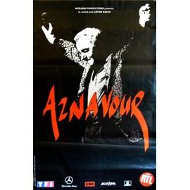 Charles Aznavour - - AFFICHE / POSTER envoi en tube