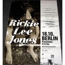 Rickie Lee Jones - Tour - AFFICHE / POSTER envoi en tube