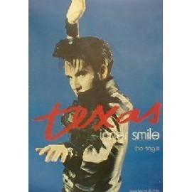 Texas - Inner Smile - AFFICHE / POSTER envoi en tube