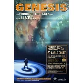 Genesis - Through The Ages - AFFICHE / POSTER envoi en tube