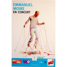 Emmanuel MOIRE - En Concert - AFFICHE / POSTER envoi en tube