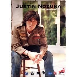 Justin NOZUKA - - AFFICHE / POSTER envoi en tube