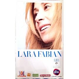 Lara FABIAN - - AFFICHE / POSTER envoi en tube