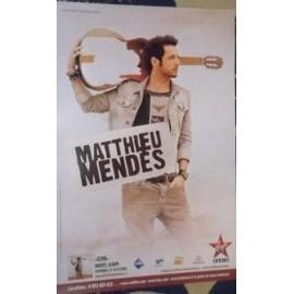 Matthieu MENDèS - - AFFICHE / POSTER envoi en tube