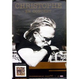 Christophe -  - AFFICHE / POSTER envoi en tube