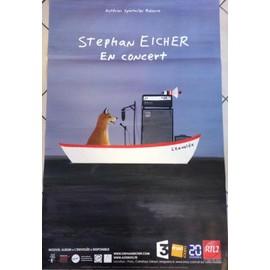 Stephan EICHER - L'envolée - AFFICHE / POSTER envoi en tube