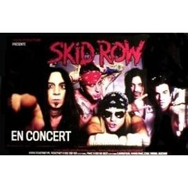 Skid Row - French Tour - AFFICHE / POSTER envoi en tube