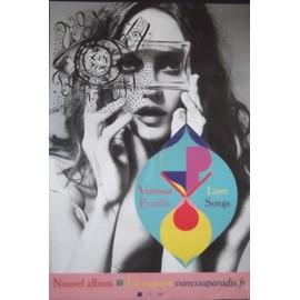 Vanessa PARADIS - Love Songs - AFFICHE / POSTER envoi en tube