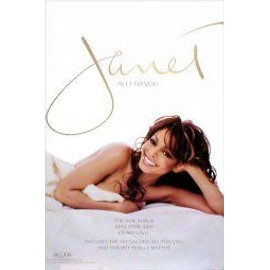 Janet JACKSON - All For You - AFFICHE / POSTER envoi en tube