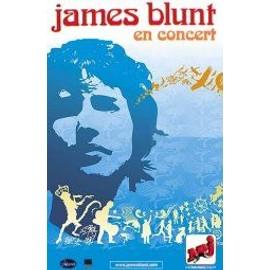 James BLUNT - En Concert - AFFICHE / POSTER envoi en tube