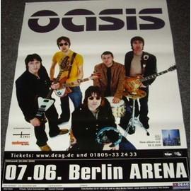 Oasis - Live Tour - AFFICHE / POSTER envoi en tube