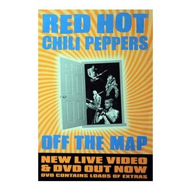 Red Hot Chili Peppers - Off The Map - AFFICHE / POSTER envoi en tube
