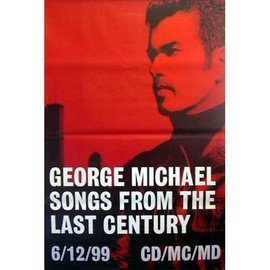 GEORGE MICHAEL - Songs from The last century - Original Promo Poster - AFFICHE / POSTER envoi en tube