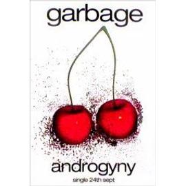 GARBAGE - Androgyny - AFFICHE / POSTER envoi en tube