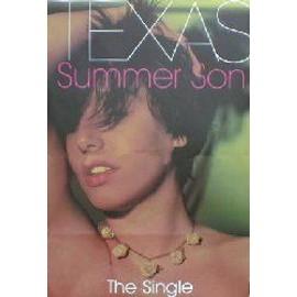 TEXAS - Summer son (Q) (K) - AFFICHE / POSTER envoi en tube