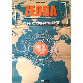 ZEBDA -  - AFFICHE / POSTER envoi en tube