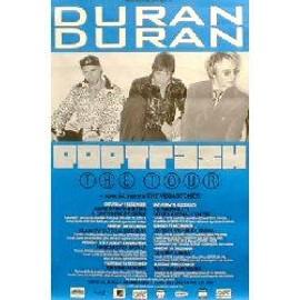 DURAN DURAN - Pop trash UK tour 2000 - Original Promo Poster - AFFICHE / POSTER envoi en tube