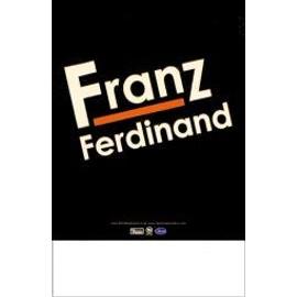 FRANZ FERDINAND - Debut album - French (Q) - AFFICHE / POSTER envoi en tube